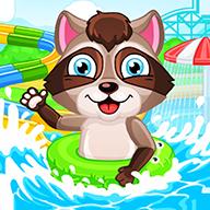 Aquapark fir kids